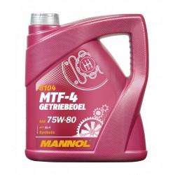 75W80 MANNOL MTF-4 Getriebeoel 4 litri