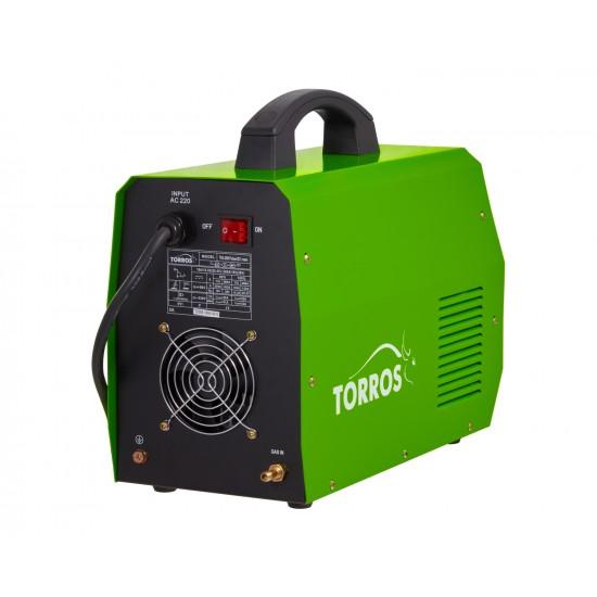 Metināšanas TIG invertors TORROS TIG200Pulse DC (T2006), 220V